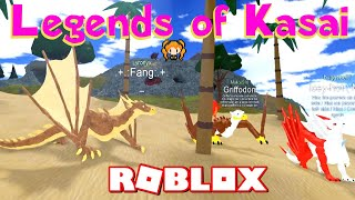 ROBLOX LEGENDS OF KASAI SECRETS and Places + DISTURBING a ROLEPLAY!