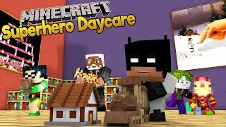 Minecraft Baby Superhero Daycare | Baby Batman and Baby Robin?