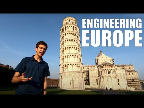 Foundations of Engineering | Leaning Tower of Pisa, Italy