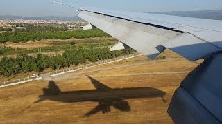 Turkish Airlines B777-300ER - Fantastic approach into Izmir Adnan Menderes Airport thumbnail