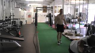 Prowler Sled Push-Pull Workout