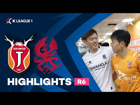 Jeju Utd Gwangju FC Goals And Highlights