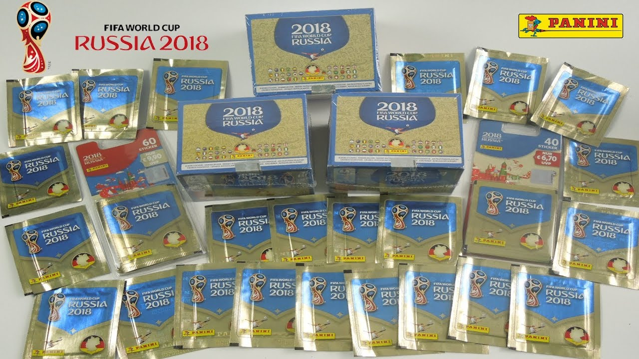 Panini Adrenalyn XL World Cup Russia 2018 2 X Display//100 Booster WM Cards