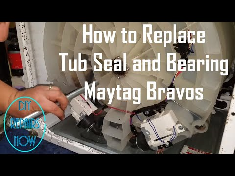 Replacing A Leaking Pump In A Maytag Bravos Top Loading