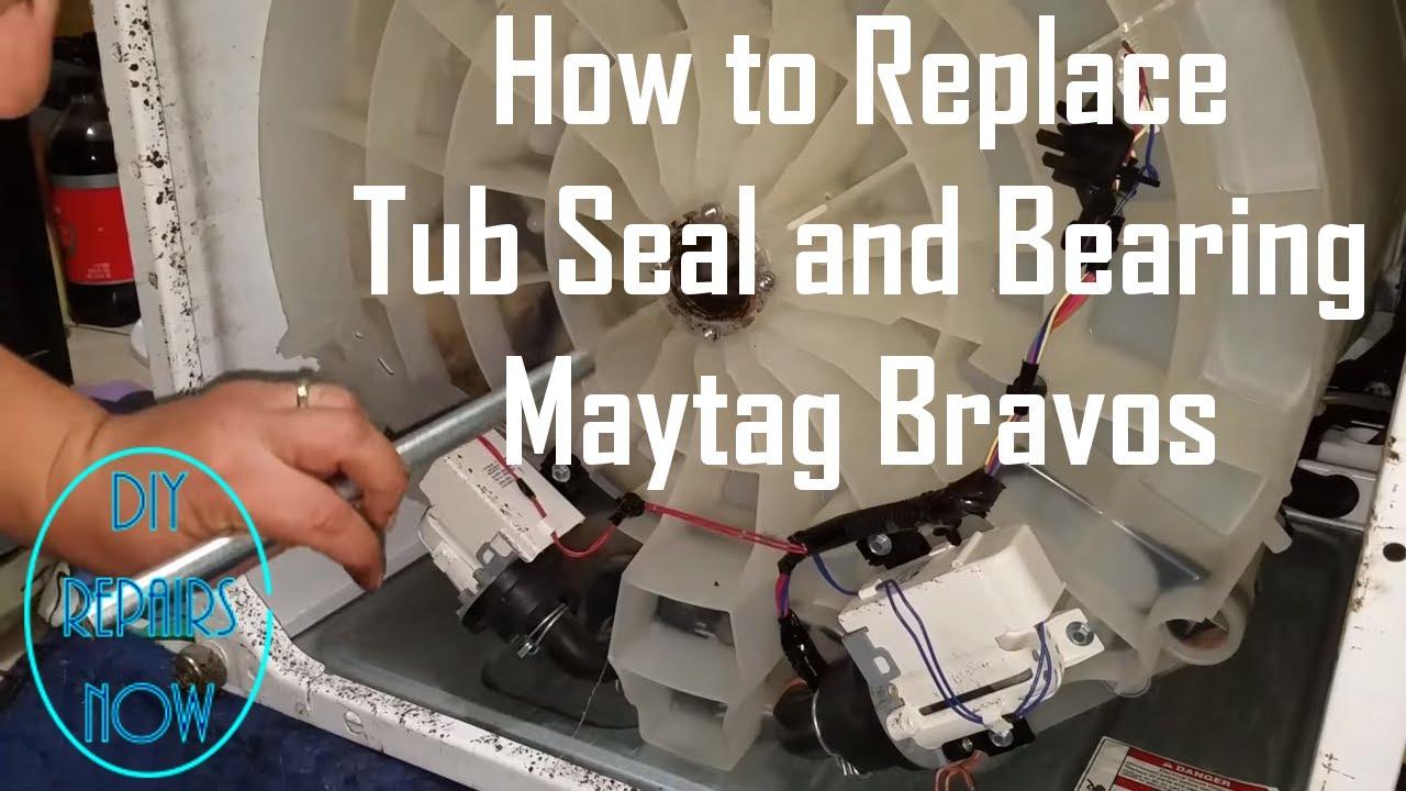 Maytag Bravos Tub Seal and Bearing Kit Replacement MVWB700VQ0