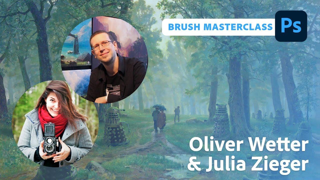 Brush Week: Masterclass mit Oliver Wetter und Julia Zieger  Adobe Live