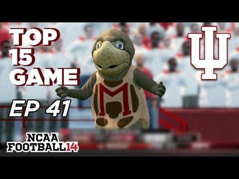NCAA Football 14 Dynasty | Indiana Hoosiers - THE LAND OF THE TERPS!!! - Ep 41