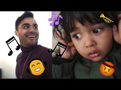 MUSICAL FATHER IMPRESSES DAUGHTER!! | VJMUSIC
