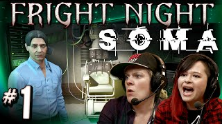 SOMA is next on Fright Night!! Hannah and I get ready to run and hi...