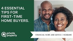 4 essential tips for first-time home buyers.
