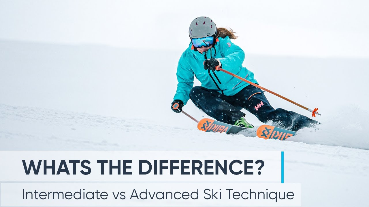 Intermediate vs Advanced Skiing   What's the difference?