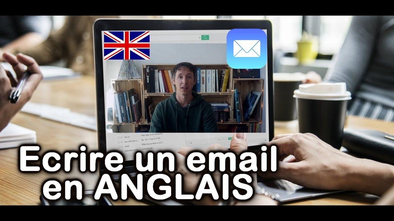 Comment Ecrire Un Email En Anglais Youtube