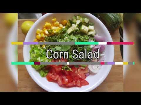 sweet-corn-salad- -healthy-salad-with-dressing- -refreshing-salad- 