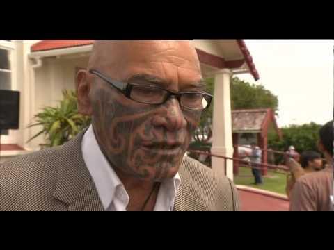 Tensions Break Out At Te Tii Marae