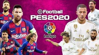 PES 2020 | บาร์เซโลน่า VS เรอัล มาดริด | ลาลีก้า สเปน 2019/20 !! มันส์ก่อนจริง !!