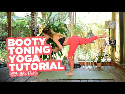 16-Minute Butt Toning Yoga Class with Allie Flavio