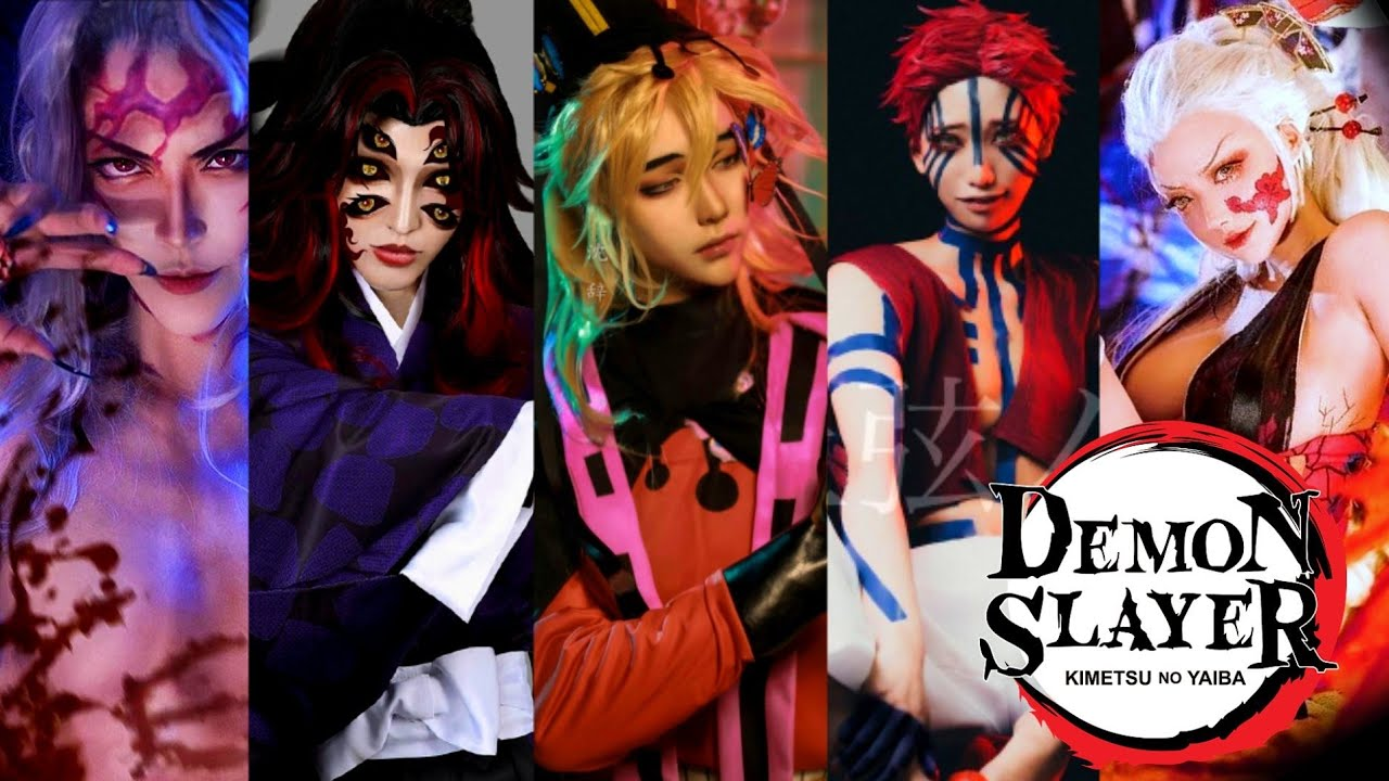 Demon Slayer : Upper Moon Demon Characters in real life (Cosplay)