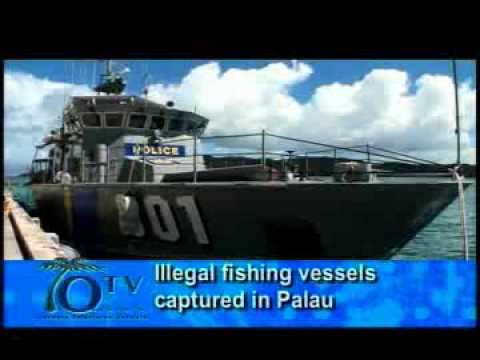 Illegal Fishing Vessels Captured In Palau