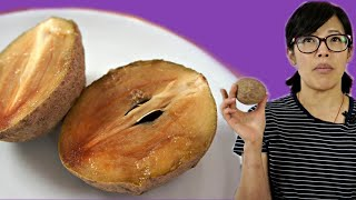 SAPODILLA Fruit | Fruity Fruits Taste Test