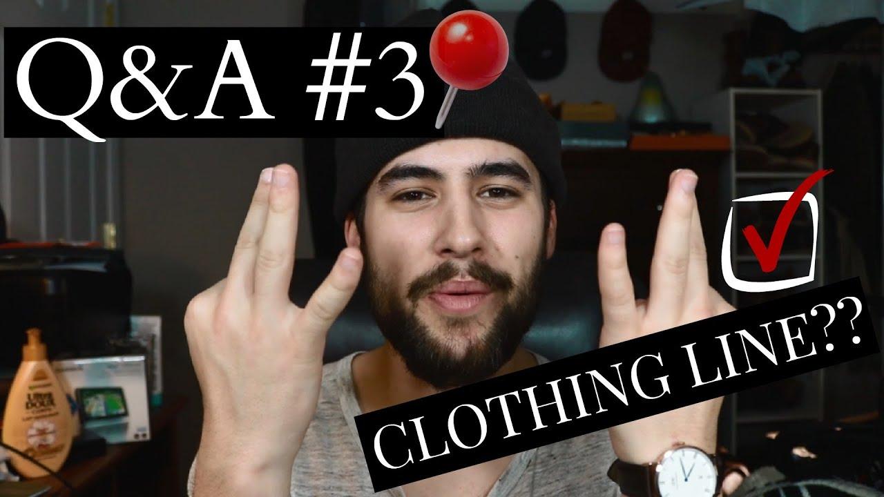 Q&A 3: MY CLOTHING LINE, YOUTUBE CRUSH, YEEZY SEASON 3