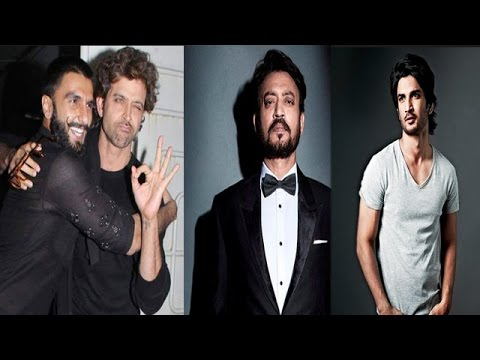 Hrithik Adores Ranveer |  Irfan Khan & Sushant To Share Screen Space In 'Tagdam'
