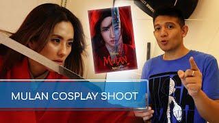 Mulan Cosplay And Bikini Shoot With Jinri