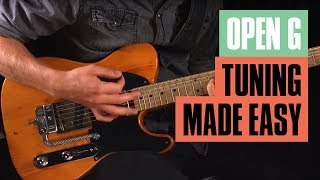 open g tuning made easy | guitar tricks