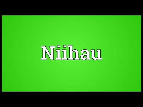 Niihau Meaning