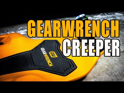 Gearwrench Composite Creeper - Comfortable with Features