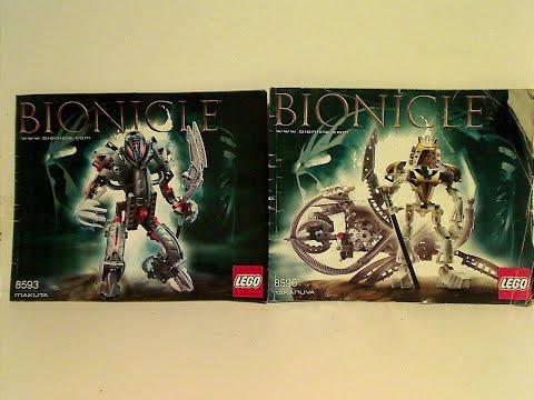 Lego Bionicle Review: Takanuva & Makuta 2003