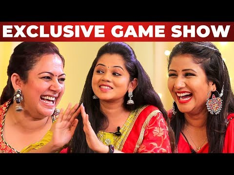 GAME SHOW: Archana, Alya Manasa & Anitha Sampath | AAA Show | GP 1.1