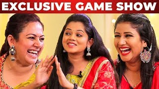 GAME SHOW: Archana, Alya Manasa & Anitha Sampath | AAA Show | GP 1.1