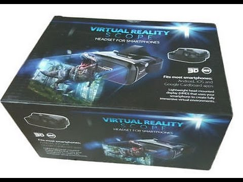 Home Bargains VR Headset Unboxing & Review - Virtual Reality