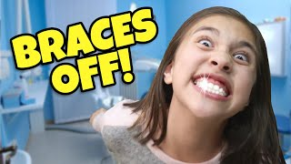 GETTING MY BRACES OFF & CUTTING MY HAIR!!! Candy Celebration Makeover!