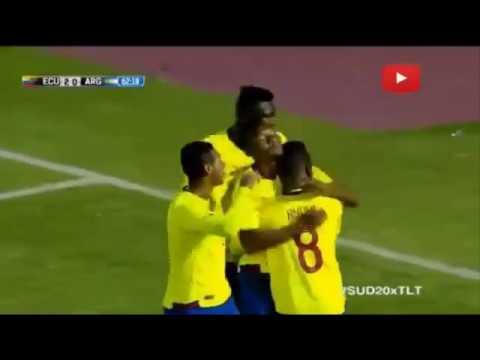 Ecuador vs Argentina 3-0 Resumen Sub 20 Sudamericano 2017