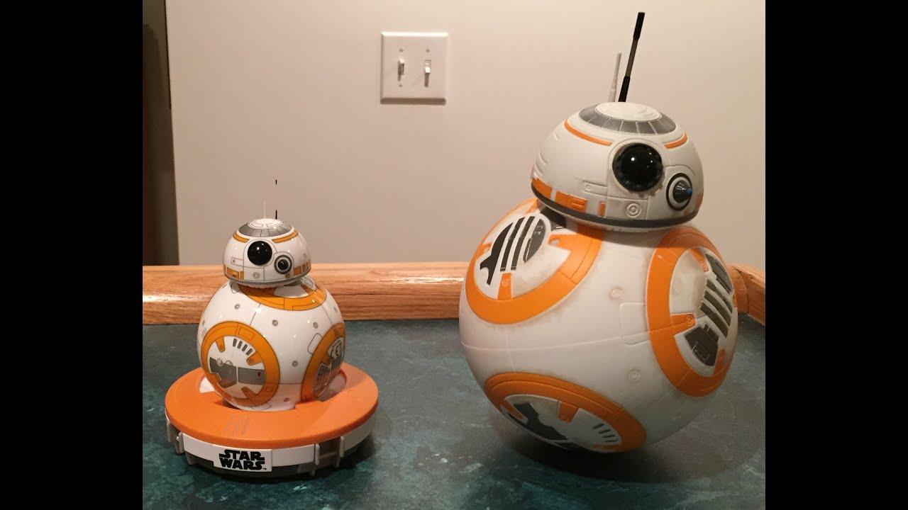 star wars sphero bb8 vs hasbro bb8 comparisonreview