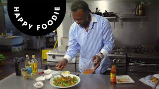 Chilli And Honey Peaches Summer Salad | Levi Roots