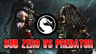 SALTY SUB ZERO: WEEK OF! PREDATOR (Part 5) Mortal Kombat X: Online Matches
