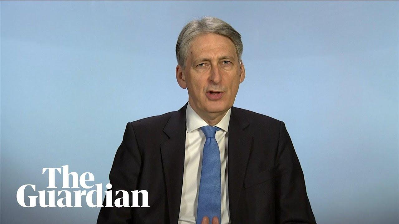 Philip Hammond Says Economy Will Be A Little Bit Smaller Under All Brexit Scenarios