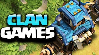 New CLAN GAMES is here in Clash of Clans December Update