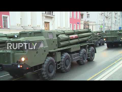 Russia: First Victory Day Parade rehearsal of 2018 takes place in Moscow