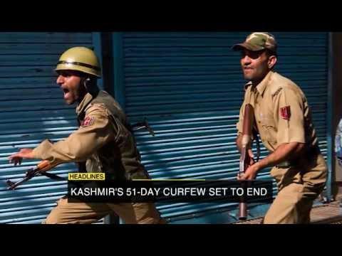 Kerry visits Bangladesh, Kashmir curfew, UN seeks successor for Ban ki-moon & More