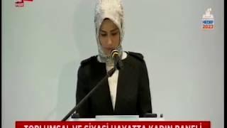 A HABER - Sümeyye Erdoğan Bayraktar