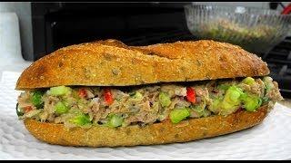 Caribbean Style Tuna Sandwich Spread.