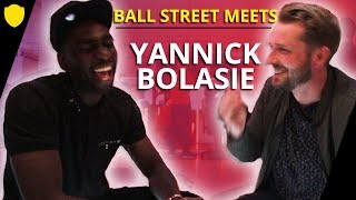 BOLASIE SQUASHES TWITTER BEEF WITH ARSENAL FAN TV  | BALL STREET MEETS