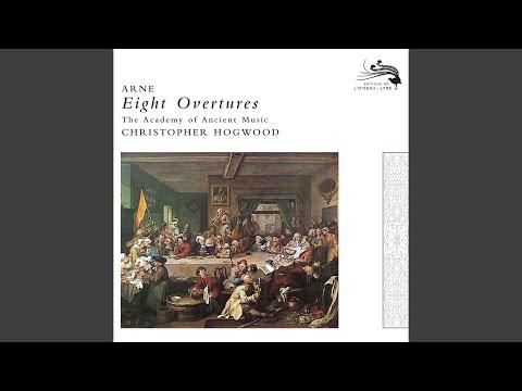 Arne: Overture No.8 in G minor