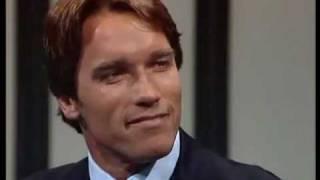 Thomas Gottschalk im Gespräch mit Arnold Schwarzenegger 1985