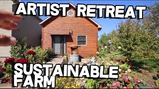 Artist Retreat Sustainable Organic Farm for sale Harrodsburg, Kentucky