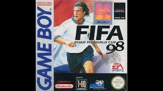 FIFA Soccer '98: Road to the World Cup (Nintendo Game Boy) - Germany vs. England