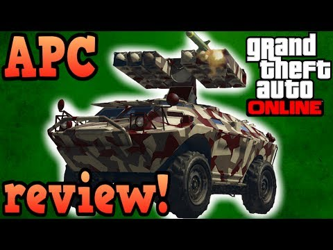 Gunrunning APC review! - GTA online